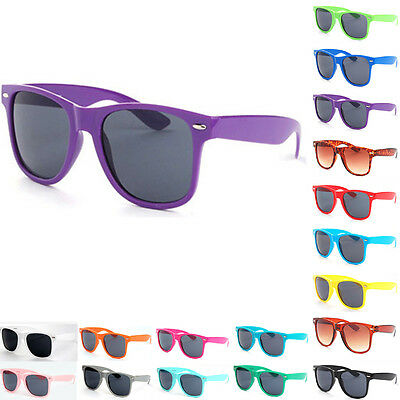 UV400 Classic Outdoor Retro Sunglasses Vintage Mens Womens Shades Eyewear