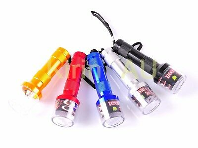 Tobacco Herb Spice Crusher Smoke Electric Grinder Automatic Flashlight Shaped