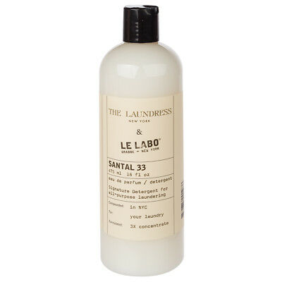 NEW The Laundress Le Labo Santal 33 Scented Detergent 475ml