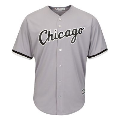 Chicago White Sox Majestic MLB AC Cool Base Replica Jersey - Grey