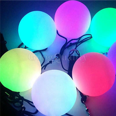 Rope LED Shine Ball Swing PVC Toys Hobbies Kids Colorful Gift Release Pressure
