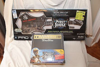 Paper Jamz Pro Series Guitar with Bonus Amp Free! Read!