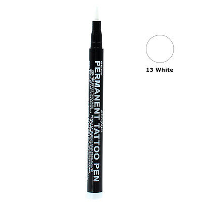 Stargazer Semi-Permanent Tattoo Fine Tip Body Art Stift-13 Weiß