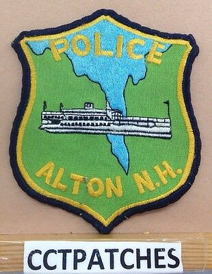 Alton, New Hampshire Police (Light Green) Shoulder Patch Nh