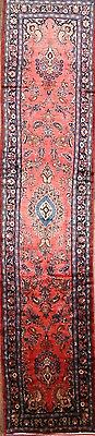 Decorative Floral 3x16 Malayer Hamedan Persian Runner Rug Oriental Wool Carpet