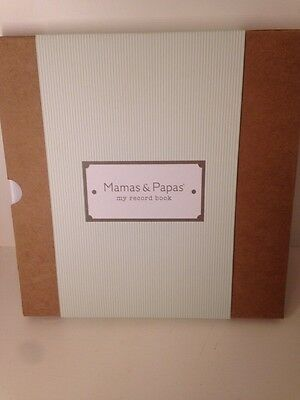 Mamas And Papas My First Years Baby Record Book