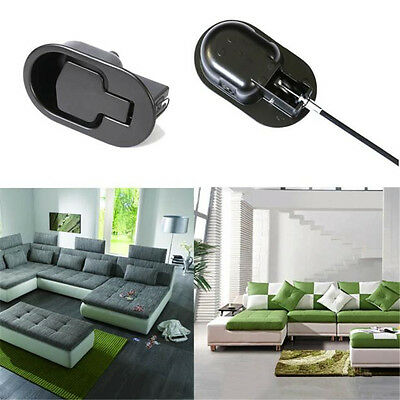 Metal Couch Handle Sofa Lounge Recliner Release Lever Trigger Replacement Cables