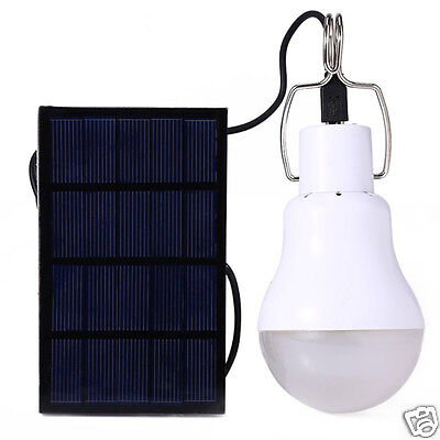 Chargeable Solar Power 15W Portable Outdoor Camping Led Bulb Light Lamp Handy