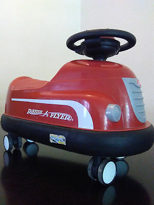 Radio Flyer Classic Ride On Bumper Car  for toddlers and little kids Model #740