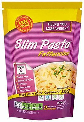 Eat Water Amincissement Fettuccine De Pâtes 200gr (Paquet de 5)