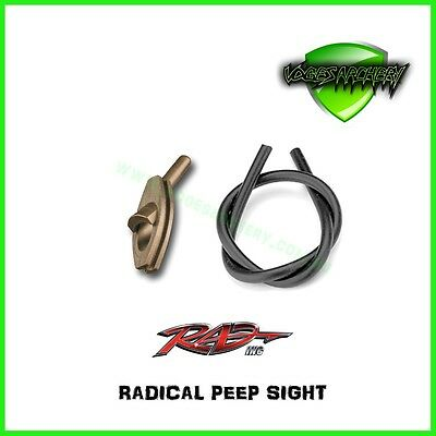 Radical Peep Sight for Compound Recurve Archery