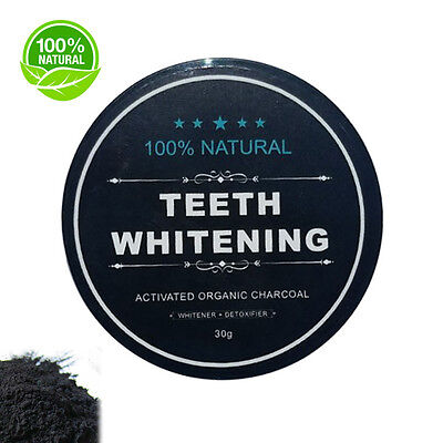 100% Organic Coco Carbon Coconut Activated Charcoal Natural Teeth Whitening