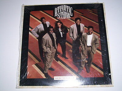 Attantic Starr Were Movin Up Shrink Wrapped Usa Copy Vinyl Record