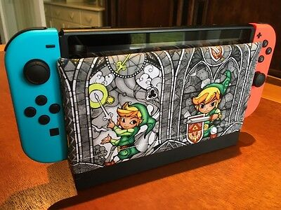 Nintendo Switch Dock Sock Cover Protector - Zelda Link Windwaker