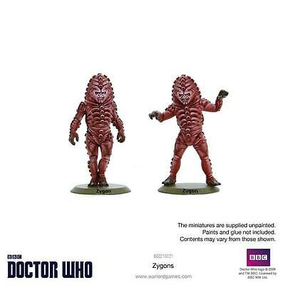 Doctor Who - Into the Time Vortex - Zygons (2) (Warlord Games)