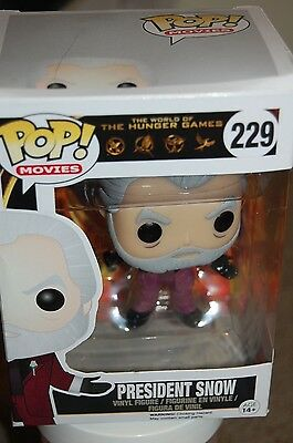 President Snow Pop Funko Figure In Box