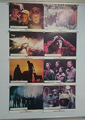 E.T. the Extra-Terrestrial 1982 UK Lobby Card Front Of House Cards Set Rare