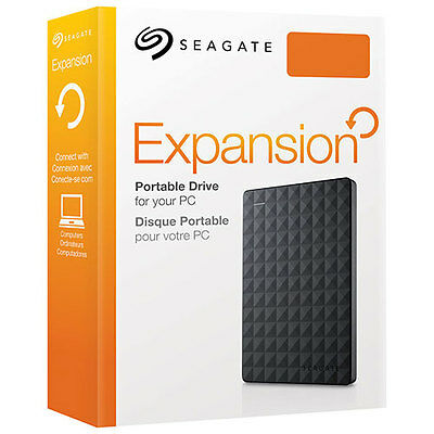 NEW SEALED Seagate Expansion STEA3000400 3TB USB 3.0 Portable Drive !PC! $CAD