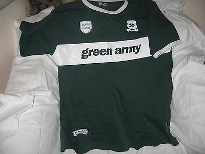 Plymouth Argyle T shirt..free UK delivery.size XL