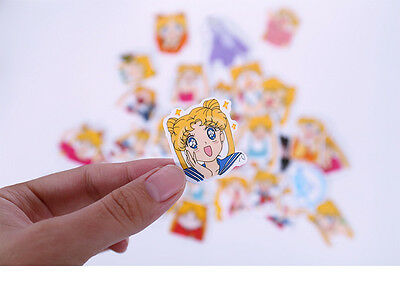 Japan Anime Sticker Lot Sailor Moon 33 sheets