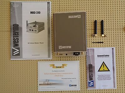 westermo mrd-310 3623-0001 Industrial mobile broadband / 3G router umts gsm NEW