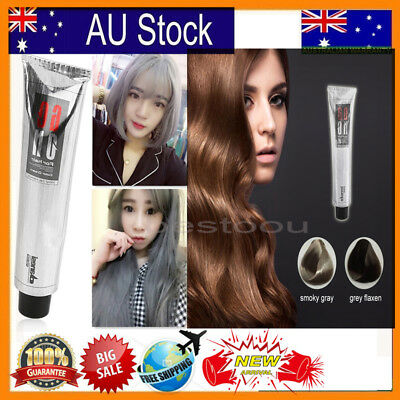 Hair COLOR Permanent Hair Cream Dye Light Grey / Silver BU