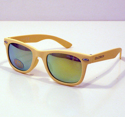 Doubleice Occhiali Da Sole Per Bambino Kids Flash Yellow Sunglasses Baby +4 Anni