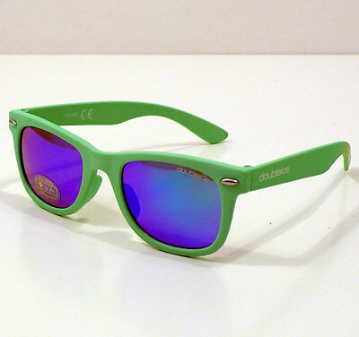 Doubleice Occhiali Da Sole Per Bambino Kids Flash Green Sunglasses Baby +4 Anni