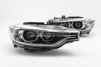 BMW 3 Series F30 F31 11-15 LHD Projector Angel Eyes Headlights Set Upgrade