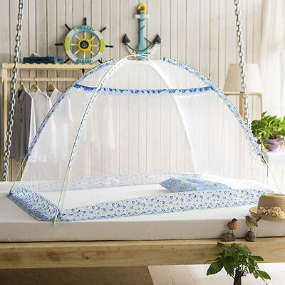Mosquito Net Tent Foldable Pop Up Zika Prevent Bed Tent For Baby Kids 2 Color