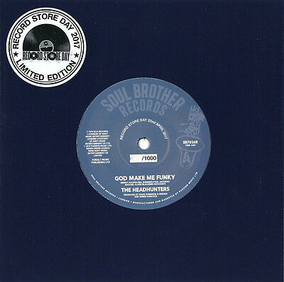 """The Headhunters - Record Store Day - God Make Me Funky 7"""" - New - RSD"""