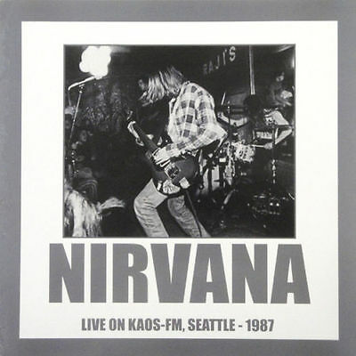 NIRVANA ~ LIVE ON KAOS-FM ~ RSD 2016 (repress) ~ 180grm VINYL LP ~ *NEW/SEALED*