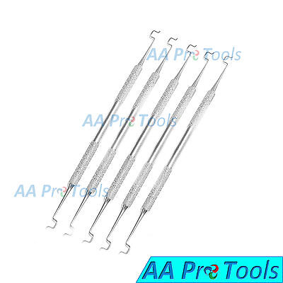 AA Pro: Ligature Director Double Ended Orthodontic Dental Instruments 5 Pieces