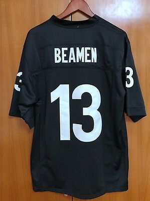Willie Beamen Football Jersey #13 Given Sunday Movie Miami Sharks Stitched Black
