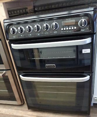 Hotpoint CH60EKKS Freestanding Electric Cooker - Double Oven - Black (957)