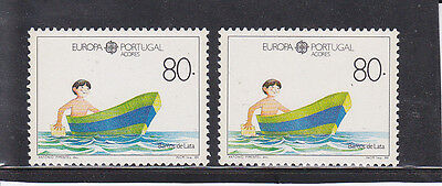 Portugal  / Azores /   Europa Cept Colour Variety (1989)  Mnh (**)