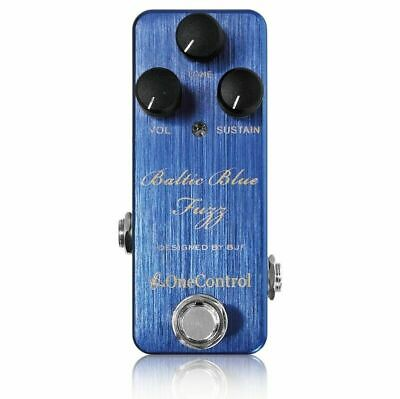 One Control BJF Series Baltic Blue Fuzz Guitar Effects Pedal