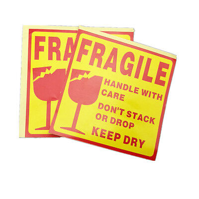 50 pcs FRAGILE Shipping Label Sticker ,Fragile Handle with Care Label Sticker