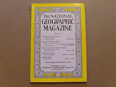 National Geographic Magazine - May 1950 - See Images For Contents