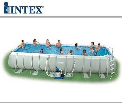 PISCINA RECTANGULAR INTEX 28362 732 x 366 x 132  Piscina Desmontable Intex