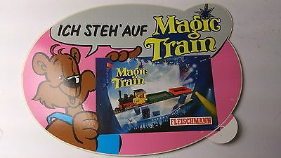 Original Fleischmann Magic Train Sticker 09 - Ich Steh Auf (PL)