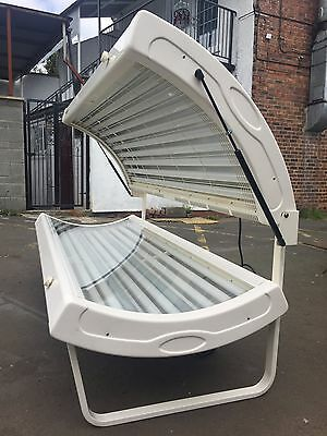 20T 100watt hapro pearl white laydown sunbed mess for del £ most of uk 10359