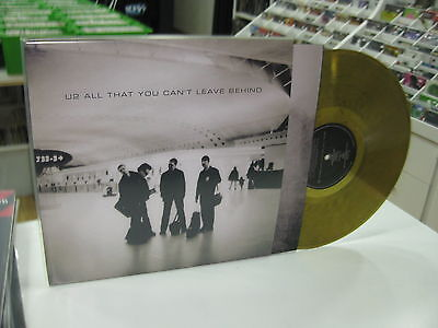 U2 Lp All That You Can't Leave Behind Bronze Lp Rare