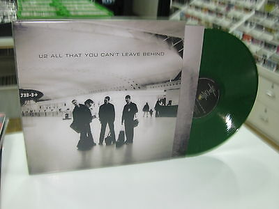 U2 Lp All That You Can't Leave Behind Green Lp Rare