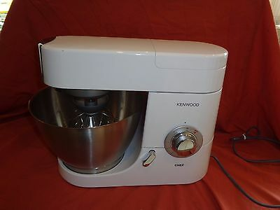 KENWOOD Premier Chef KMC515  1000w Food Mixer with 4.6 litres Capacity White