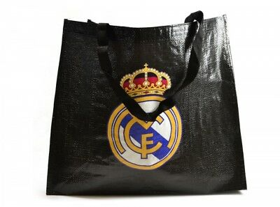 Sac à provisions en sac réutilisable noire Cadeau officiel du fan de football du