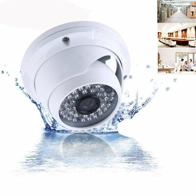 1000TVL CCTV 1080P AHD Camera HD Dome Analog Home Security 48LED IR Night Vision
