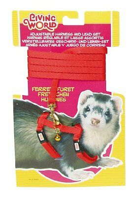 Living World Harness and Lead Set for Ferrets