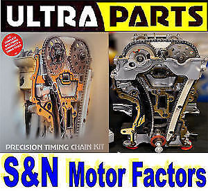 Timing Chain Kit fits Toyota Auris Corolla Yaris - 1.4 D-4D [1NDTV] TK64A +Gears