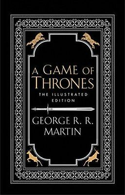 A Game of Thrones The Illustrated Edition by George R. R. Martin NEW (H/B 2016)